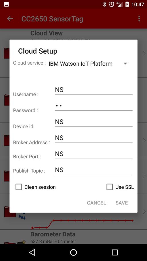 IBM Watson IoT Platform Configuration